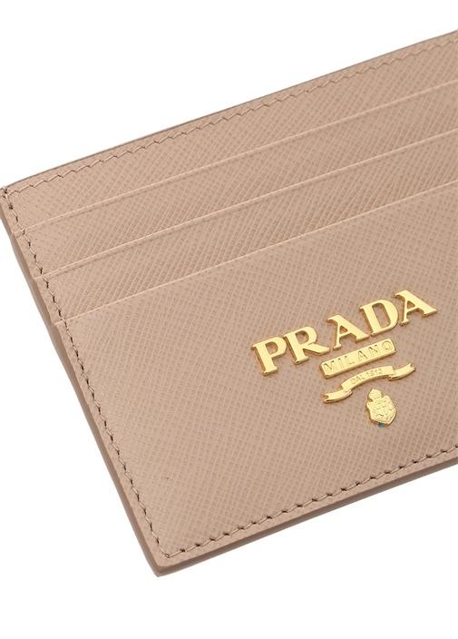 Pudra Logolu Kadın Deri Kartlık