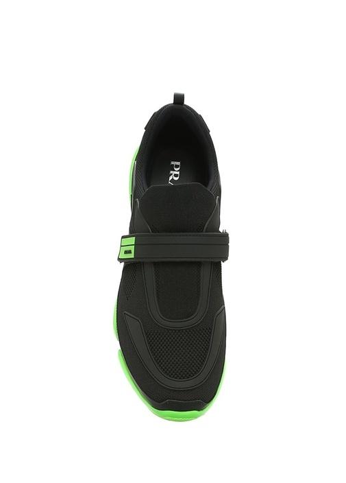 Cloudbust Siyah Yeşil Tabanlı Dokulu Erkek Sneaker