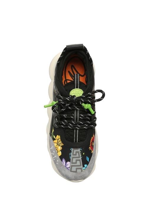 Chain Reaction Siyah Çiçekli Erkek Sneaker