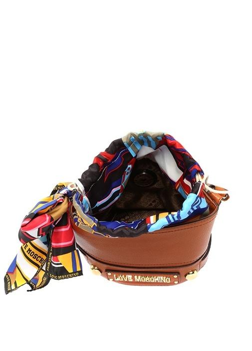 Taba Logolu Fiyonklu Kadın Çanta