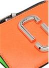 Turuncu Silver Logo Detaylı Kadın Deri Cüzdan