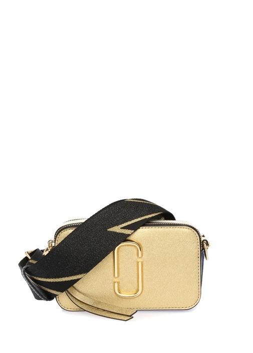 Snapshot Small Gold Kadın Deri Çanta