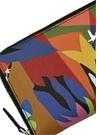 Mor Pop Desenli Logolu Kadın Cüzdan
