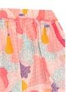 Pembe Desenli Kız Çocuk Etek