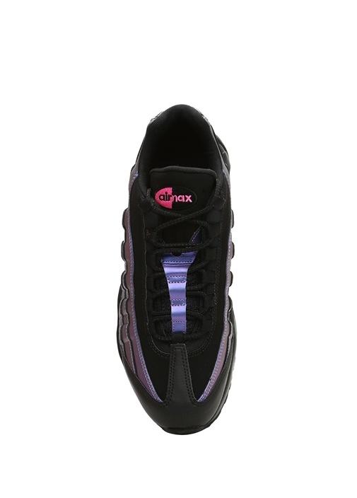 Air Max 95 Premium Siyah Mor Erkek Sneaker