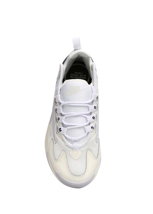 Zoom 2K Ekru Mor Kadın Sneaker