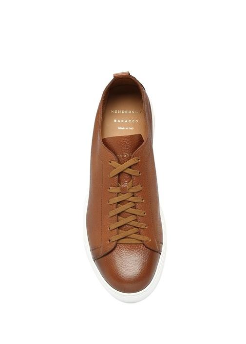Bryan Taba Logolu Erkek Deri Sneaker