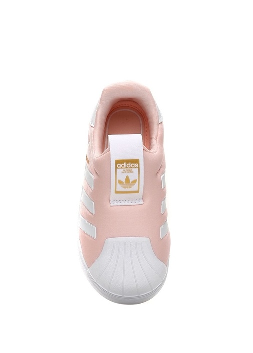 Super Star 360 Turuncu Beyaz Unisex Bebek Sneaker