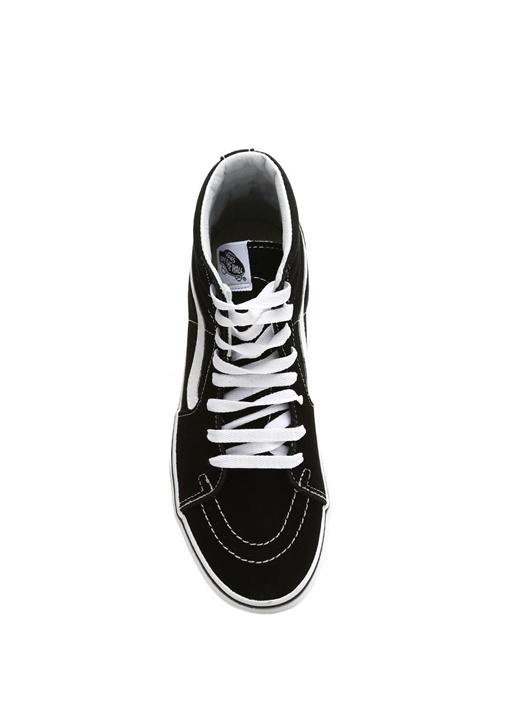 SK8 Hi Siyah Beyaz Bilekli Kadın Sneaker