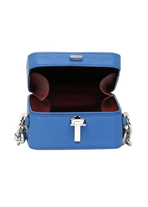 Mavi Kutu Formlu Kadın Deri Çanta