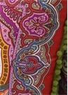 3lü Yeşil Etnik Desenli Dekoratif Yastık Seti