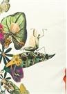 3lü Pembe Çiçek Desenli Dekoratif Yastık Seti