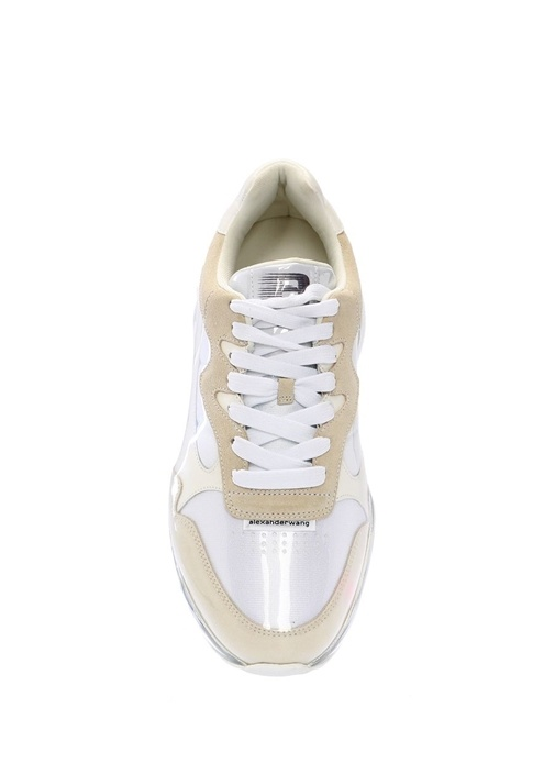 Stadium Beyaz Süet Detaylı Kadın Sneaker
