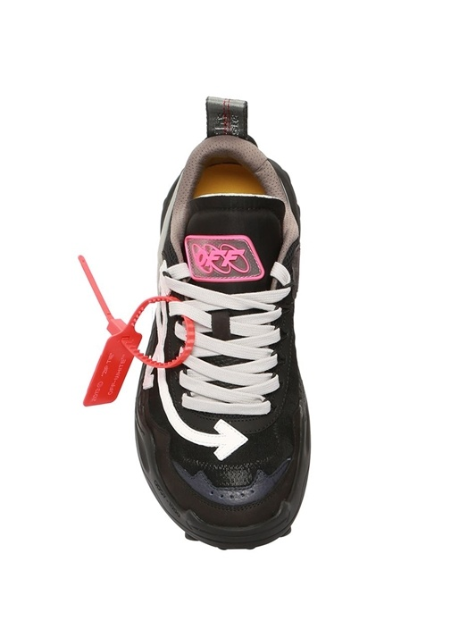 Odsy Siyah Logolu Kadın Sneaker