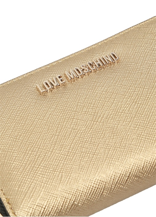 Gold Logolu Kadın Cüzdan