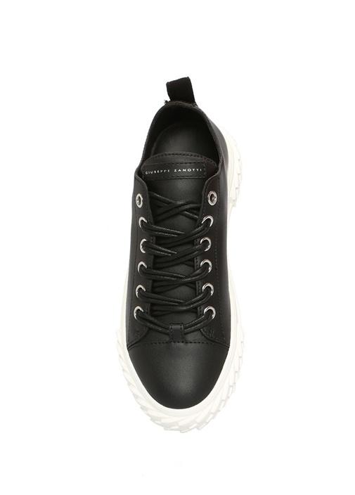 Blabber Siyah Kadın Deri Sneaker