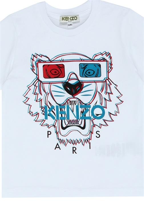 Tiger 3D Baskılı Erkek Çocuk T-shirt