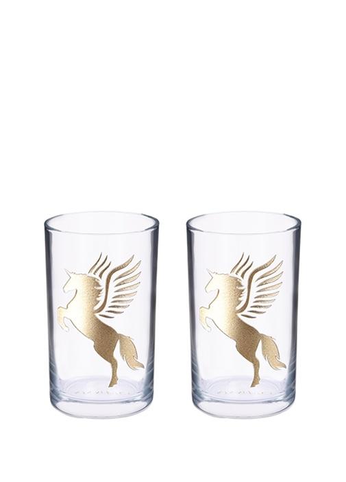 """Pegasus"" Cam Kahve Bardağı 2'Li Set"