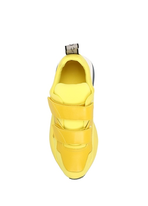 Eclypse Gri Sarı Kadın Sneaker