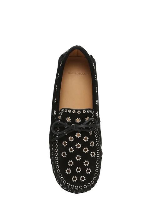 Foccia Siyah Süet Kadın Loafer