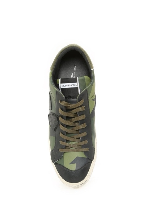 Bertoldo Yeşil Deri Erkek Sneaker