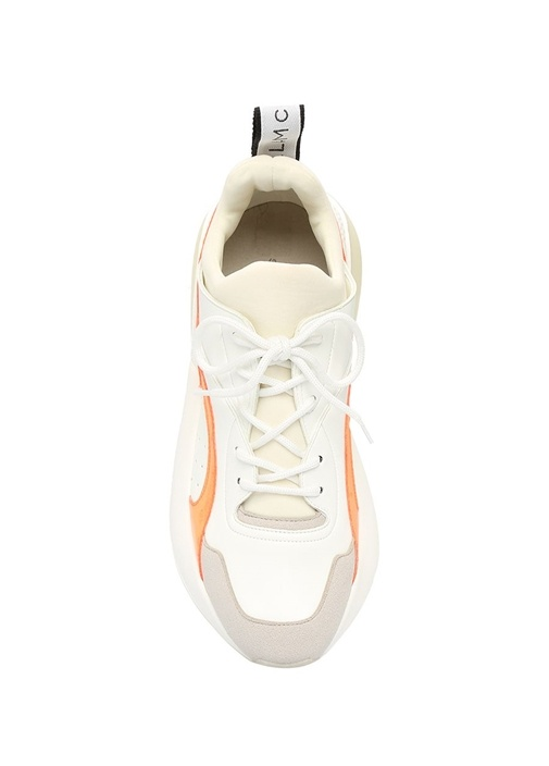 Eclypse Beyaz Turuncu Kadın Sneaker