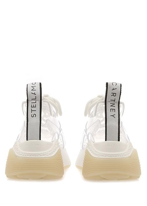 Eclypse Şeffaf Beyaz Transparan Kadın Sneaker