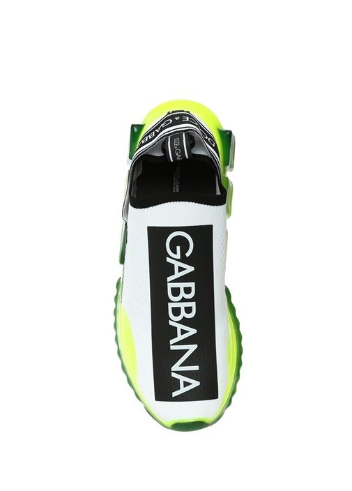 Sorrento Beyaz Yeşil Taban Detaylı Erkek Sneaker
