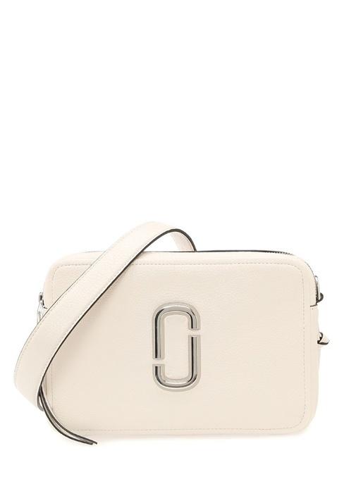 Softshot 27 Beyaz Kadın Deri Çanta