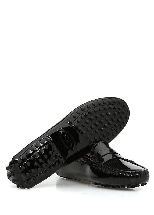 Siyah Troklu Erkek Deri Loafer