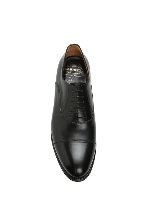 Siyah Dekoratif Dikişli Erkek Deri Ayakkabı