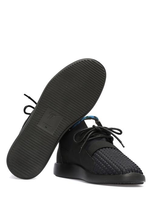 Corey Siyah Deri Erkek Sneaker
