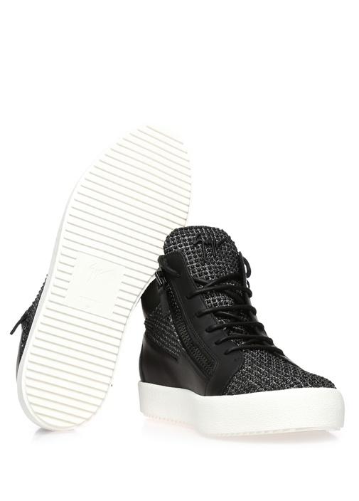 Kriss Siyah Erkek Sneaker