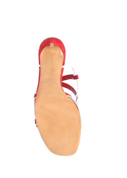 Valentino Garavani Kirmizi Free Rockstud Sandalet