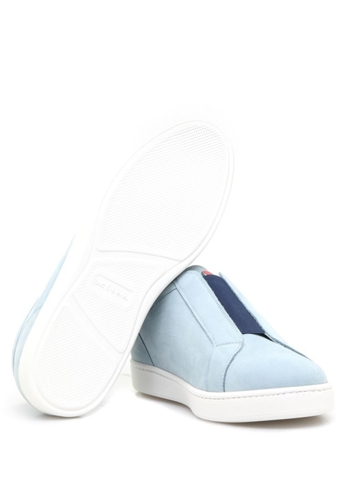 Code Açık Mavi Deri Erkek Sneaker