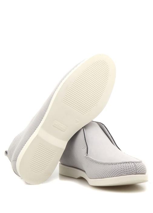 Ussfl Gri Dokulu Erkek Süet Sneaker