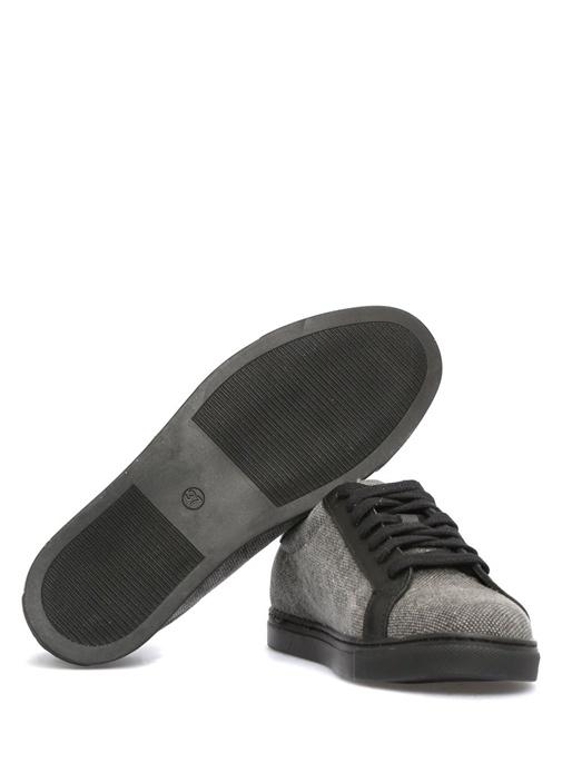 Siyah Antrasit Kadın Sneaker