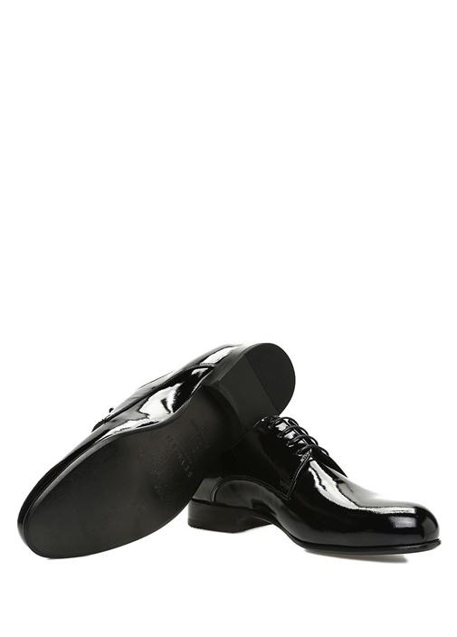 Siyah Erkek Deri Smokin Ayakkabısı