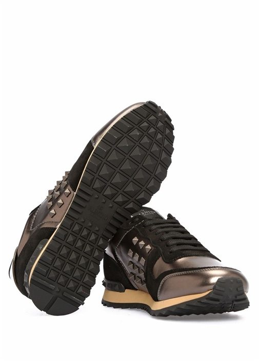 Valentino Garavani Rockstud Deri Erkek Sneaker