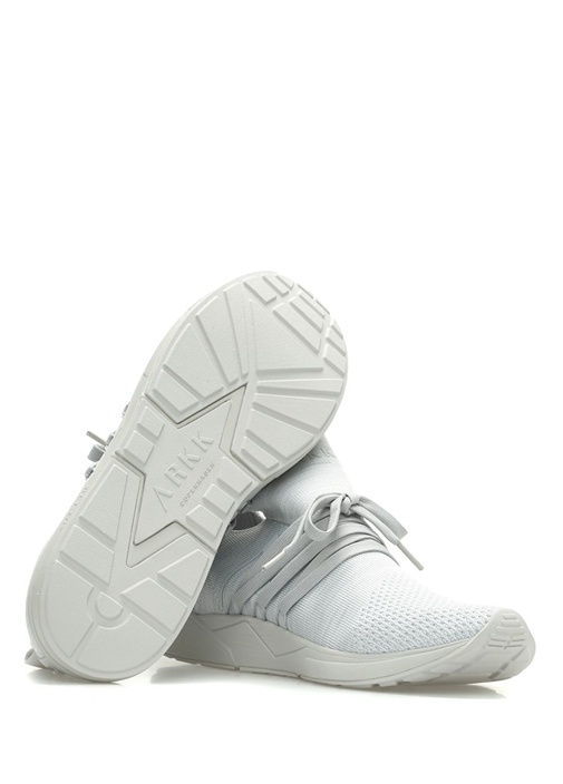 Raven Gri Çorap Formlu Erkek Sneaker