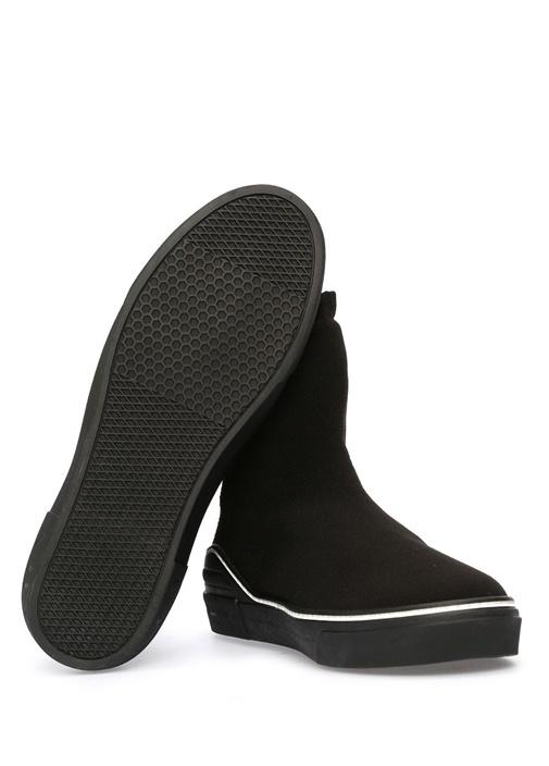 George V Siyah Çorap Formlu Erkek Sneaker