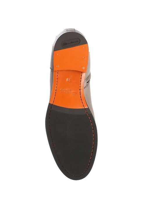 Gri Kadın Deri Çizme