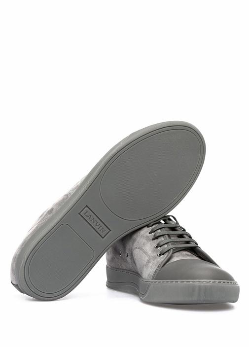 Gri Erkek Süet Sneaker