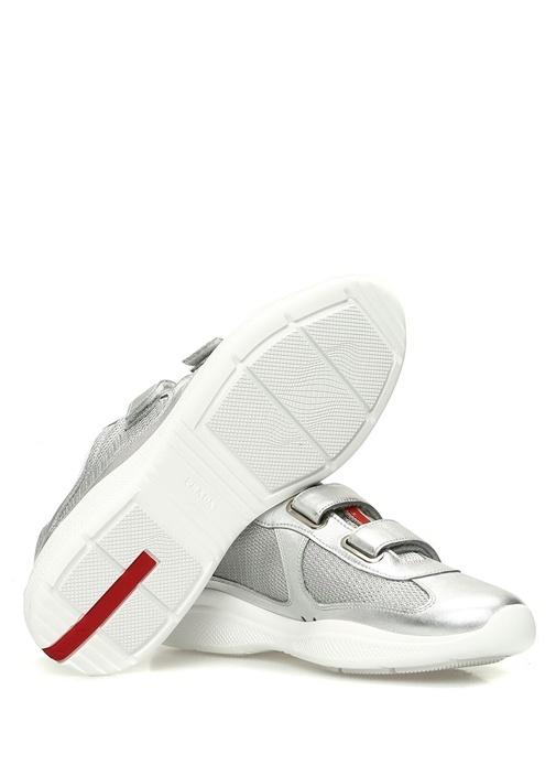 Silver File Detaylı Kadın Sneaker