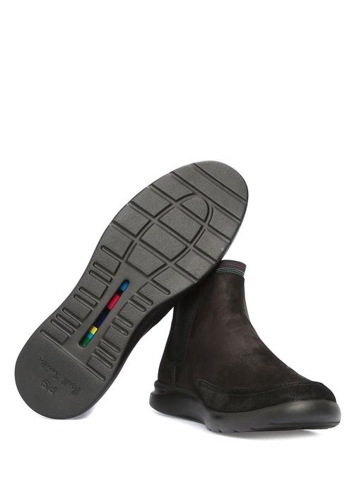 Acosto Siyah Erkek Süet Sneaker