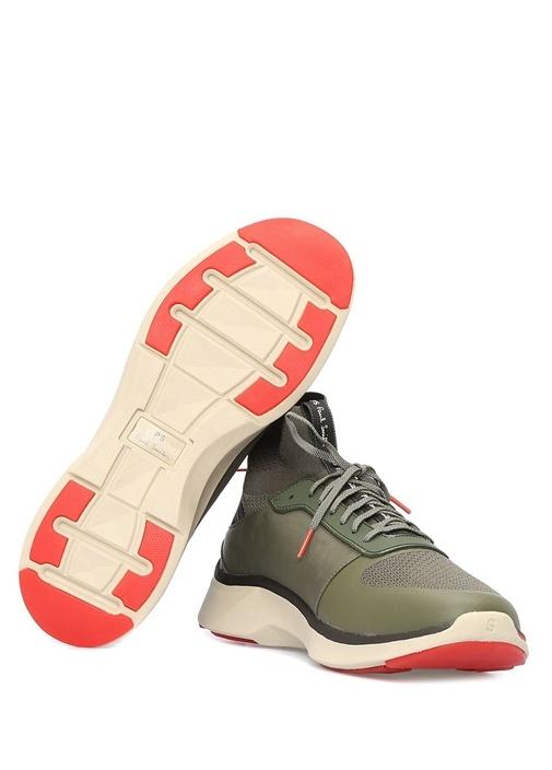 Zookie Haki Çorap Formlu Erkek Sneaker