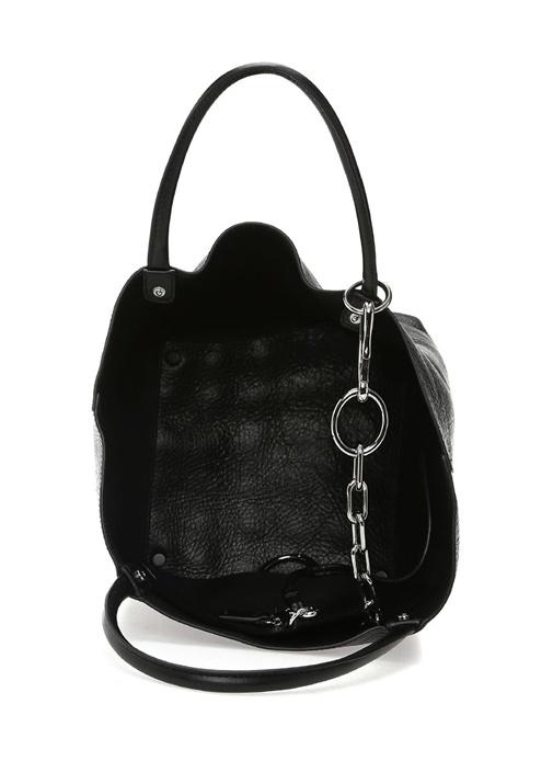 Roxy Small Siyah Kadın Deri Çanta