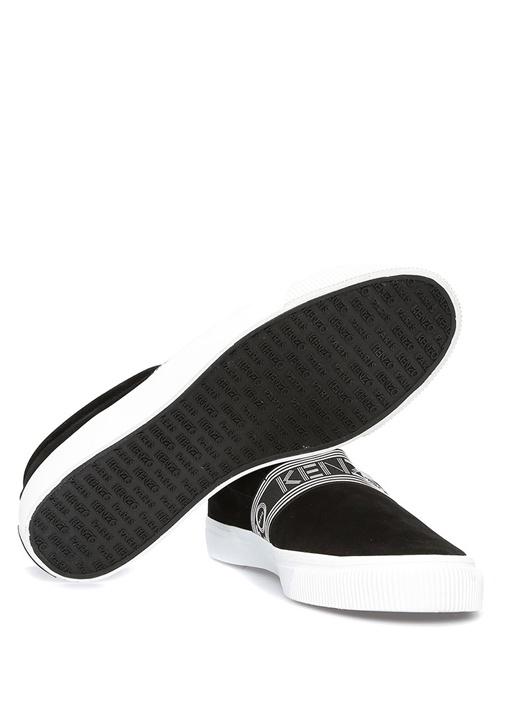 Kapri Siyah Şerit Logolu Erkek Süet Ayakkabı
