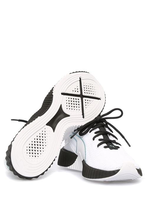 Defy Beyaz Örgü Dokulu Kadın Sneaker
