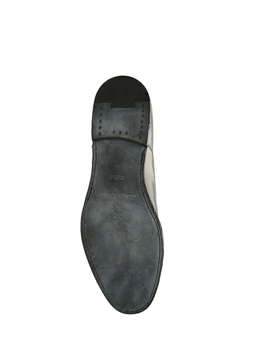 Bogart Siyah Dekoratif Dikişli Erkek Deri Ayakkabı